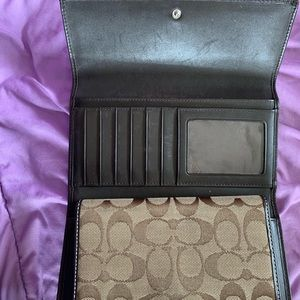 Coach Bags - Coach Wallet and Checkbook Cover